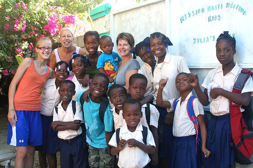 Helping Kids Help Haiti forecast